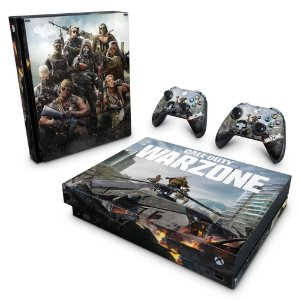 Xbox One X Skin - Call of Duty Warzone