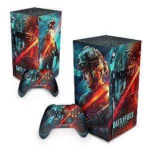 Xbox Series X Skin - Battlefield 2042