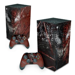 Xbox Series X Skin - Venom Tempo de Carnificina
