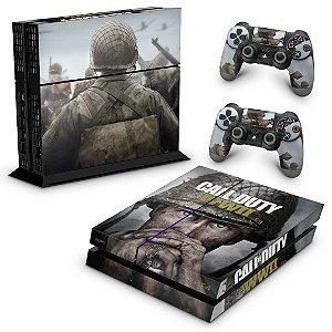 Ps4 Fat Skin - Call of Duty WW2