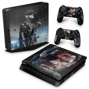 PS4 Slim Skin - Metal Gear Solid V