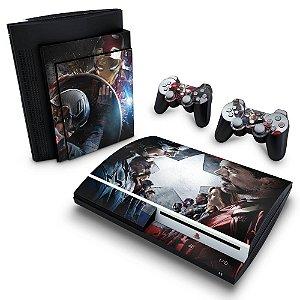 PS3 Fat Skin - Capitão America - Guerra Civil