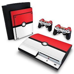 PS3 Fat Skin - Pokemon Pokebola