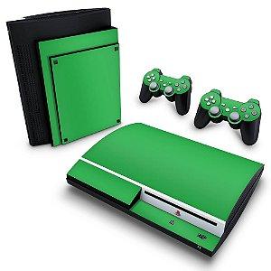 PS3 Fat Skin - Verde Grama