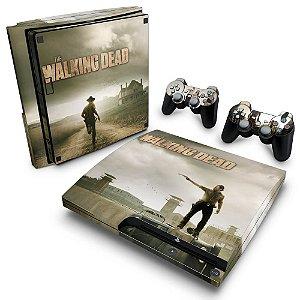 PS3 Slim Skin - The Walking Dead #B