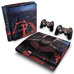 PS3 Slim Skin - Daredevil Demolidor