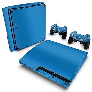 PS3 Slim Skin - Azul Claro
