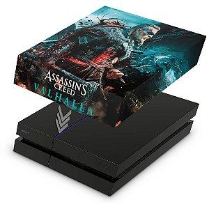 PS4 Fat Capa Anti Poeira - Assassin'S Creed Valhalla