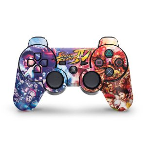 PS3 Controle Skin - Street Fighter #A