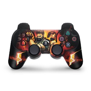 PS3 Controle Skin - Resident Evil 5