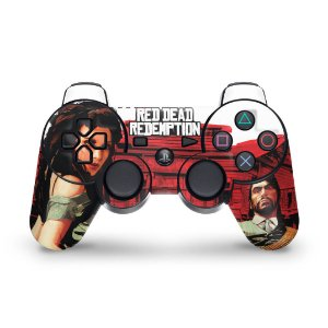 PS3 Controle Skin - Red Dead Redemption