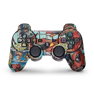PS3 Controle Skin - Deadpool