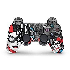 PS3 Controle Skin - Arlequina Harley Quinn