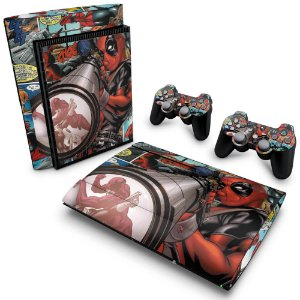PS3 Super Slim Skin - Deadpool