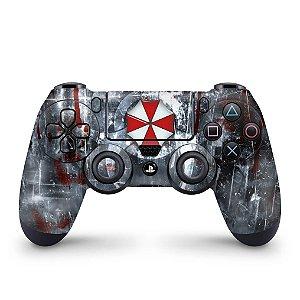 Skin PS4 Controle - Resident Evil Umbrella