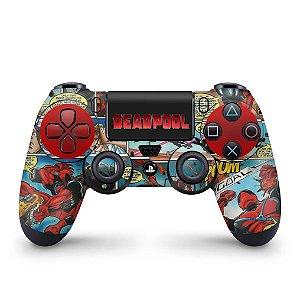Skin PS4 Controle - Deadpool