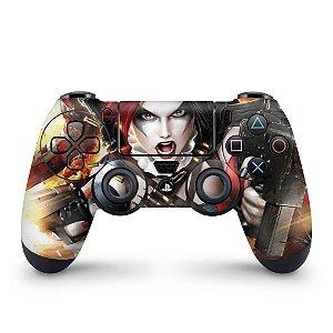 Skin PS4 Controle - Harley Quinn - Arlequina #b