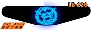 PS4 Light Bar - Crash Bandicoot