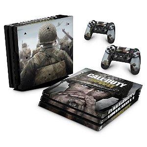 PS4 Pro Skin - Call of Duty WW2