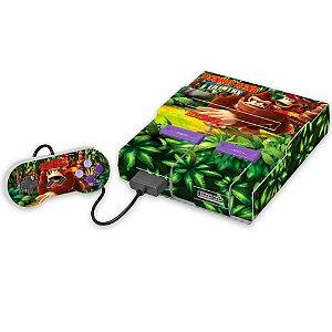 Super Nintendo Skin - Donkey Kong Country