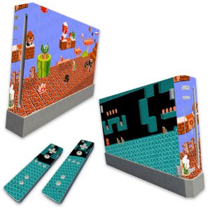 Skin Nintendo Wii - Mario Retro