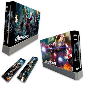 Skin Nintendo Wii - The Avengers Vingadores