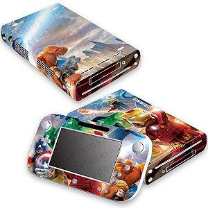 Nintendo Wii U Skin - Lego Marvel Super Heroes