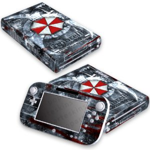 Nintendo Wii U Skin - Resident Evil