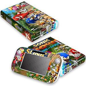 Nintendo Wii U Skin - Sonic Boom