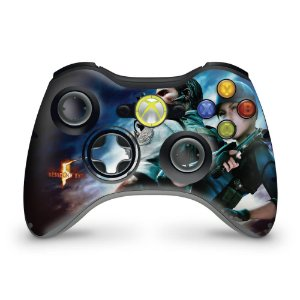 Skin Xbox 360 Controle - Resident Evil 5