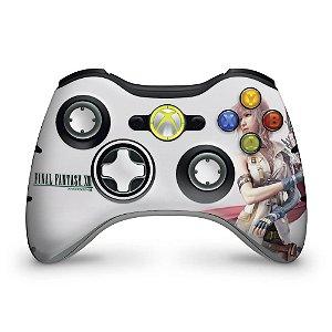 Skin Xbox 360 Controle - Final Fantasy Xiii #a