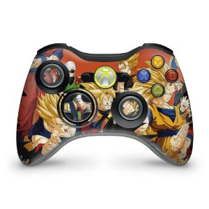Skin Xbox 360 Controle - Dragon Ball Z