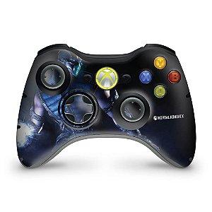 Skin Xbox 360 Controle - Mortal Kombat X Subzero