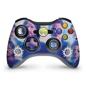 Skin Xbox 360 Controle - Sobrenatural