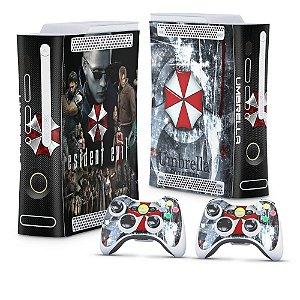 Xbox 360 Fat Skin - Resident Evil - Umbrella