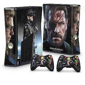 Xbox 360 Slim Skin - Metal Gear Solid V