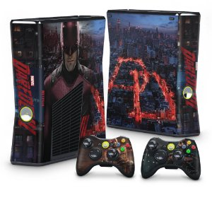 Xbox 360 Slim Skin - Daredevil Demolidor
