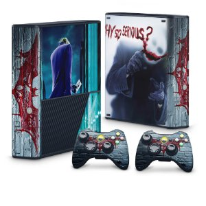 Xbox 360 Super Slim Skin - Coringa Joker #A