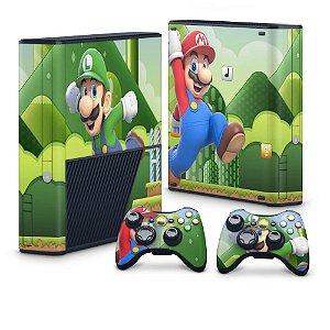 Xbox 360 Super Slim Skin - Mario & Luigi