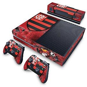 Xbox One Fat Skin - Flamengo