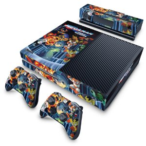 Xbox One Fat Skin - Megaman Legacy Collection