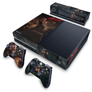 Xbox One Fat Skin - Daredevil Demolidor