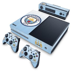 Xbox One Fat Skin - Manchester City FC