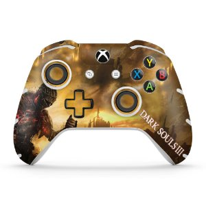 Skin Xbox One Slim X Controle - Dark Souls 3