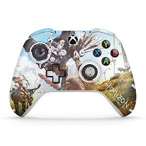Skin Xbox One Slim X Controle - Horizon Zero Dawn