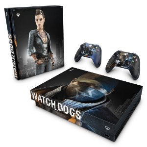 Xbox One X Skin - Watch Dogs