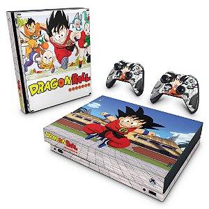 Xbox One X Skin - Dragon Ball Clássico