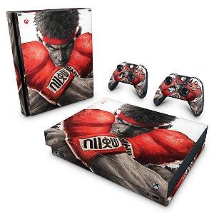 Xbox One X Skin - Street Fighter V
