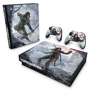 Xbox One X Skin - Rise of the Tomb Raider