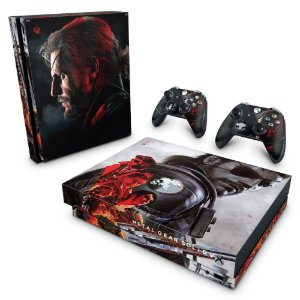 Xbox One X Skin - Metal Gear Solid 5: The Phantom Pain